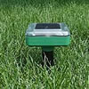 Solar gopher repeller saves on batteries.